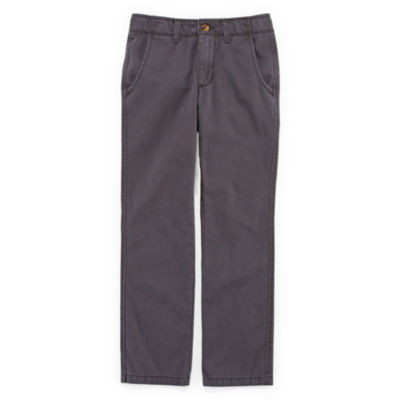 Arizona Flat-Front Chino Pants - Boys 8-20, Slim and Husky
