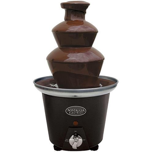 Nostalgia CFF965 3-Tier 1.5-Pound Capacity Chocolate Fondue Fountain