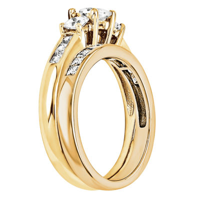 1 3/4 CT. T.W. Diamond 14K Yellow Gold Bridal Set