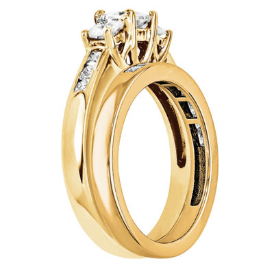 2 CT. T.W. Diamond 14K Yellow Gold Bridal Set