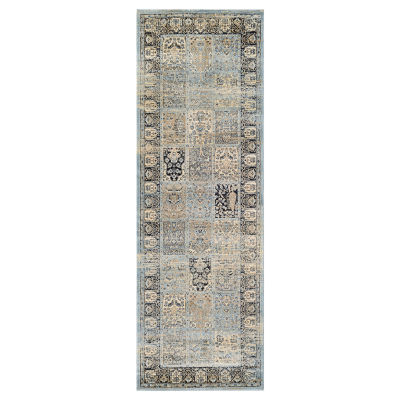 "Couristan™ Column Panel Runner Rug - 31""X94"""