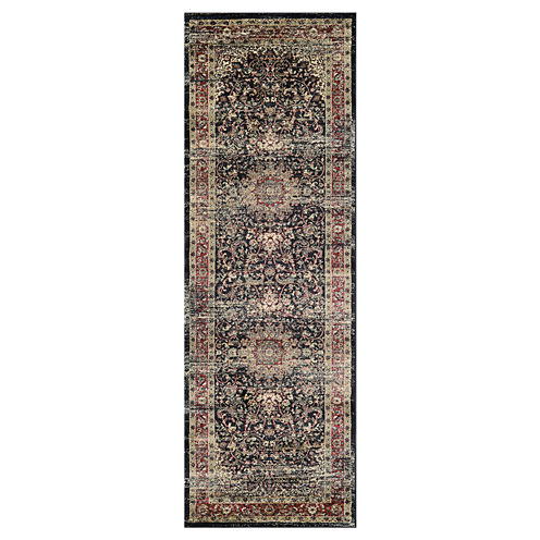 "Couristan™ Lotus Medallion Runner Rug - 31""X94"""