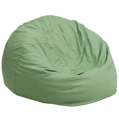 Oversized Solid Bean Bag