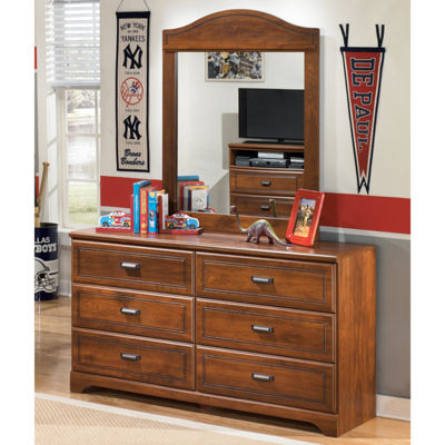 Signature Design by Ashley® Barchan Dresser and Mirror Set
