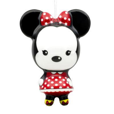 Disney Minnie Mouse Decoupage Christmas Ornament