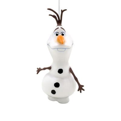 Disney Olaf Decoupage Christmas Ornament