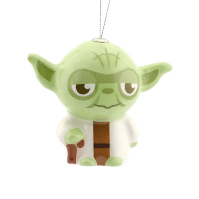 Yoda Decoupage Christmas Ornament