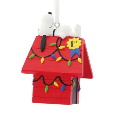 Hallmark Snoopy Doghouse Christmas Ornament