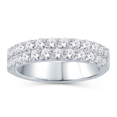 1 1/2 CT. T.W. Diamond Band 14K White Gold