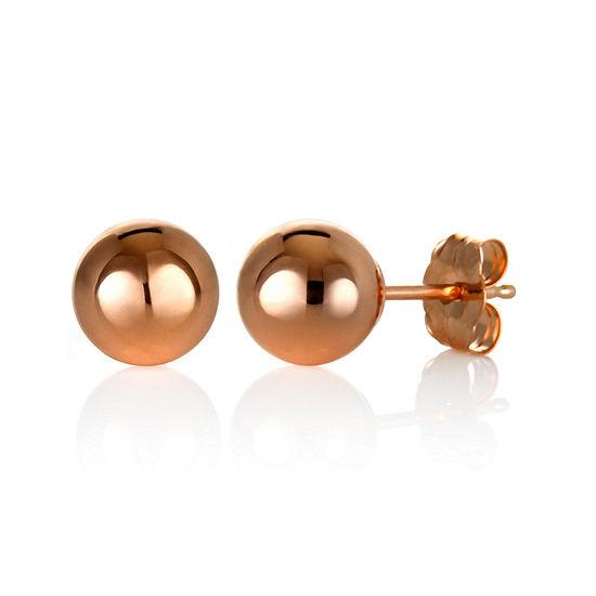 14K Gold 6mm Stud Earrings