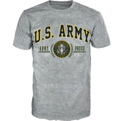 Military US Army Short-Sleeve Graphic T-shirt