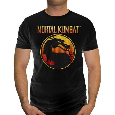 Mortal Kombat Mesh Logo SS Tee