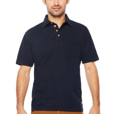 Smith Workwear Short Sleeve Knit Polo Shirt