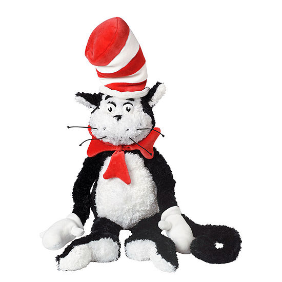 "Manhattan Toy Dr. Seuss The Cat in the Hat 27"" Soft Plush Toy"""