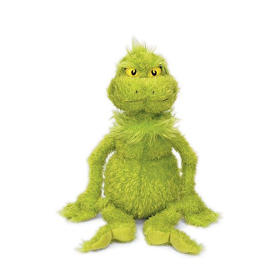 "Manhattan Toy Dr. Seuss The Grinch 15"" Soft Plush Toy"""