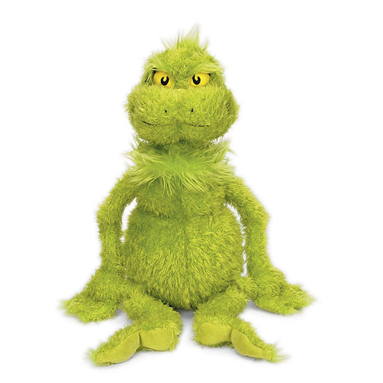 "Manhattan Toy Dr. Seuss The Grinch 22"" Soft Plush Toy"""