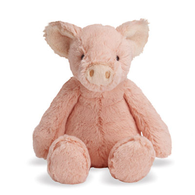 "Manhattan Toy Lovelies Pink Piper Pig 12"" Plush Toy"""