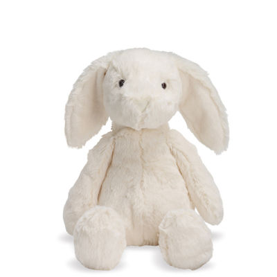 "Manhattan Toy Lovelies White Riley Rabbit 12"" Plush Toy"""