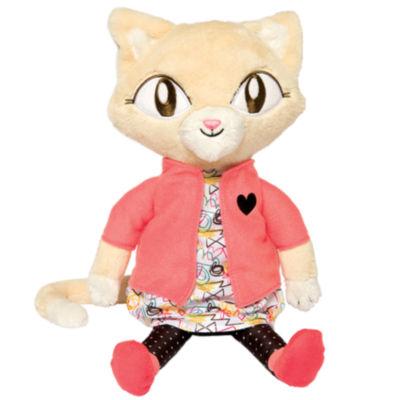 "Manhattan Toy Alley Cat Club - Jinx 14"" Plush Toy"""