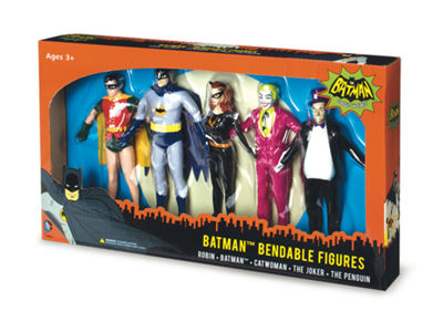Toysmith Bendable Boxed Set Action Figure