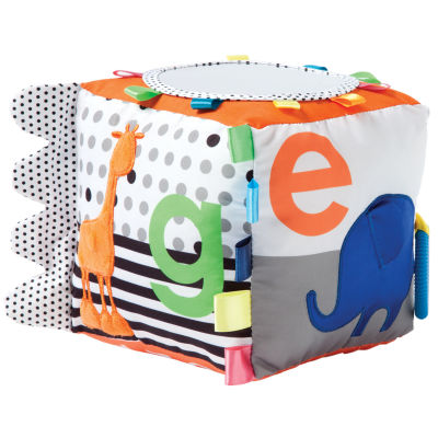Manhattan Toy Soft Activity Cube Baby Toy