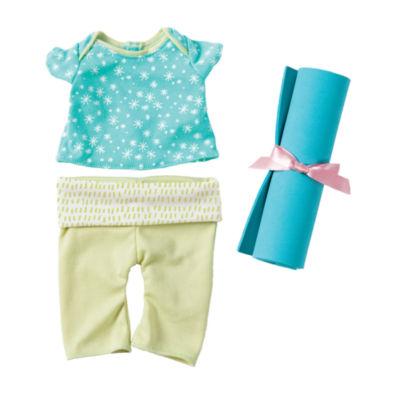 "Manhattan Toy Baby Stella 15"" Baby Doll Yoga Set"""