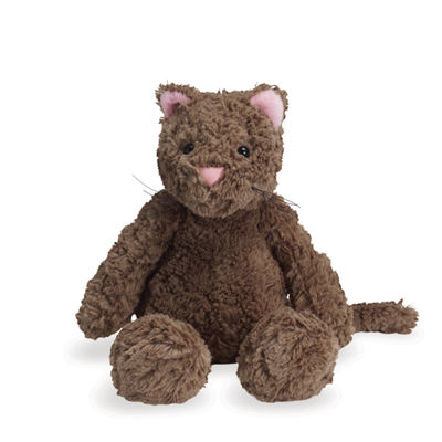 "Manhattan Toy Delightfuls Carly Cat 11"" Plush Toy"""