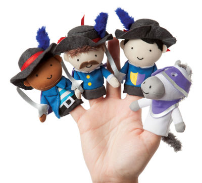 Manhattan Toy Storytime - Musketeer Mates Finger Puppet Set