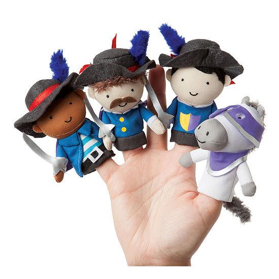 Manhattan Toy Storytime - Musketeer Mates Finger Puppet Set