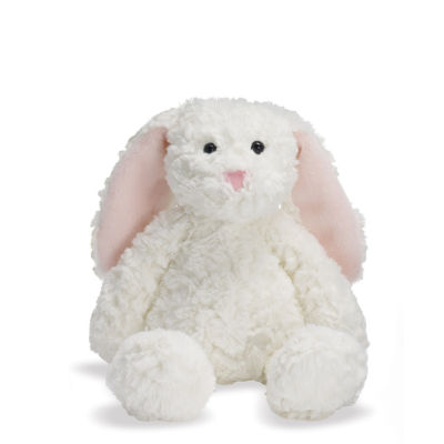 "Manhattan Toy Delightfuls White Bevin Bunny 11"" Plush Toy"""