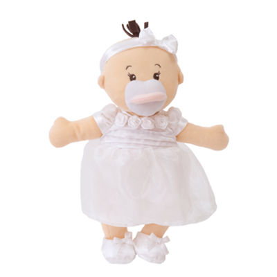"Manhattan Toy Wee Baby Stella It's My Party Dress12"" Soft Baby Doll"""