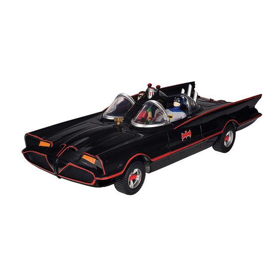 "Toysmith Batman Classic Tv Series Batmobile  6"" Batman And Robin Action Figures"""
