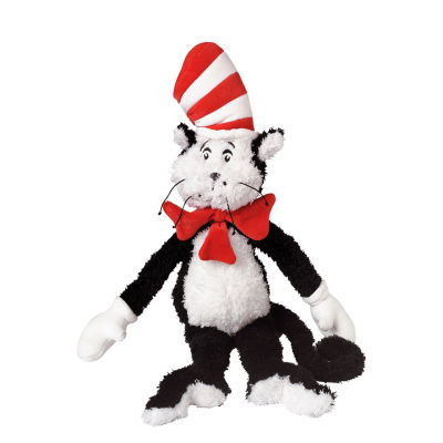 """Manhattan Toy Dr. Seuss Cat in the Hat 20"""" Soft Plush Toy"""""""