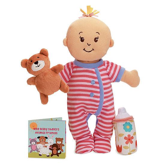 "Manhattan Toy Wee Baby Stella Sleepy Time Scents 12"" Soft Baby Doll Set"""
