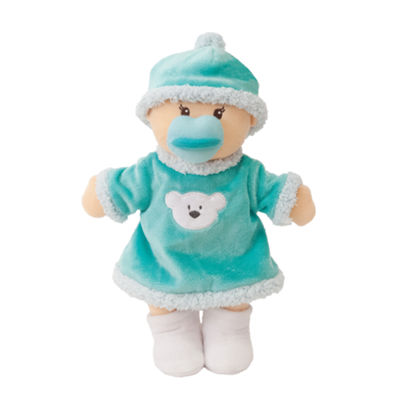 "Manhattan Toy Wee Baby Stella Snow Day 12"" Soft Baby Doll"""