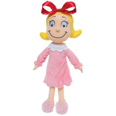 "Manhattan Toy Dr. Seuss Cindy Lou Who 15"" Soft Doll"""