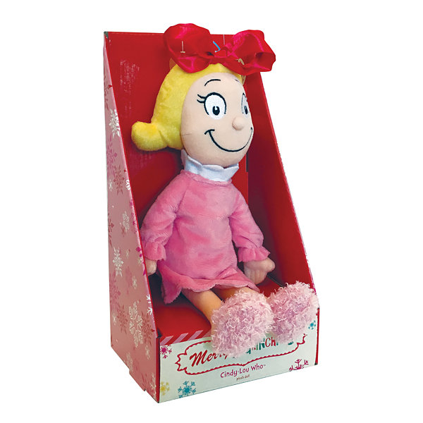 "Manhattan Toy Dr. Seuss Cindy Lou Who 15"" Soft Doll"""