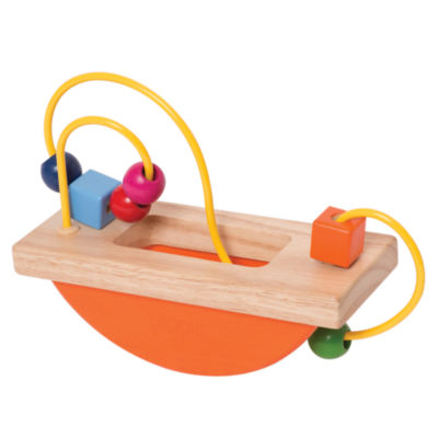 Manhattan Toy Wooden Bead Maze Run  Baby ActivityToy