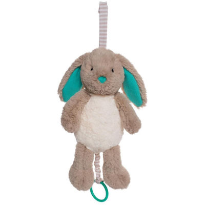 Manhattan Toy Woodland Babies Bellamy Bunny Pull Musical