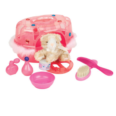 Toysmith Marie The Traveling Cat & Vet Cage Play Kitchen