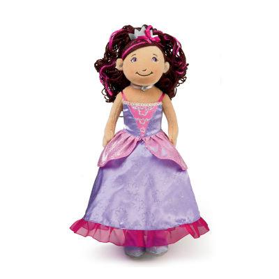 "Manhattan Toy Groovy Girls Princess Ariana (Brunette) 13"" Doll"""