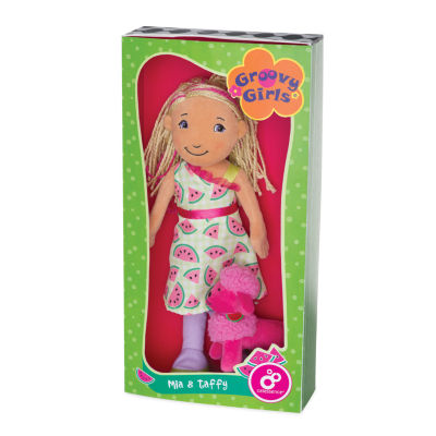 "Manhattan Toy Groovy Girls Style Scents  -  Mia &Taffy 13"" Doll"""