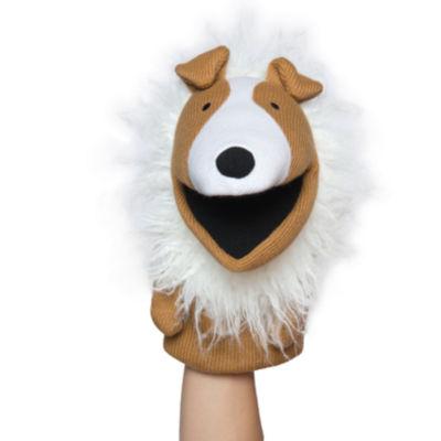Manhattan Toy Knit Puppets - Collin Hand Puppet