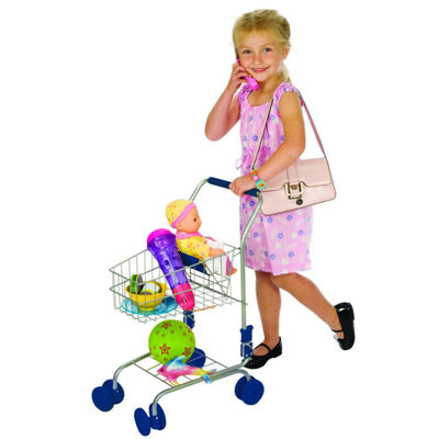 Toysmith Toy Shopping Cart