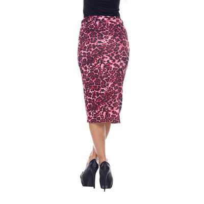 White Mark Cynthia Pencil Skirt