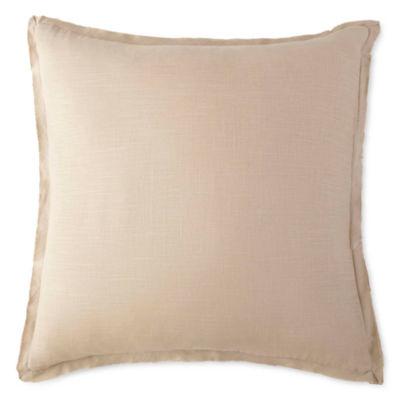 Linden Street Artisan Solid Euro Pillow