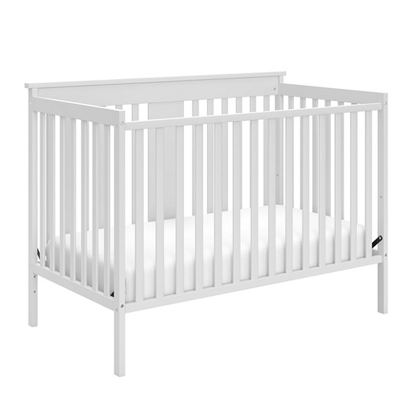 Storkcraft Mission Ridge 4-in-1 Convertible Crib- White