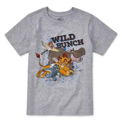 Disney Short Sleeve Lion Guard T-Shirt-Big Kid