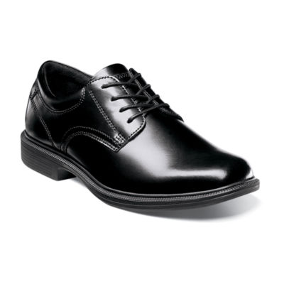 Nunn Bush Mens Langley Plain Toe Dress Oxford Shoes Lace-up