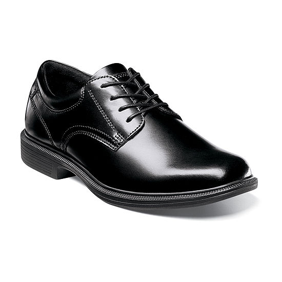 Nunn Bush Mens Langley Plain Toe Dress Oxford Shoes